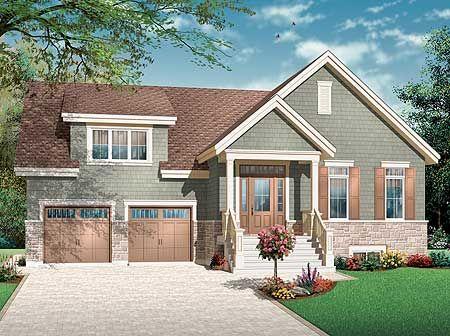 1000 idées sur le thème split level house plans sur pinterest ...