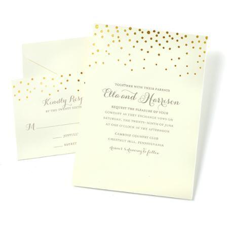 Gartner Studios Dot Invitations 50 Piece Walmart Com Wedding Invitation Kits Create Wedding Invitations Printable Wedding Invitations