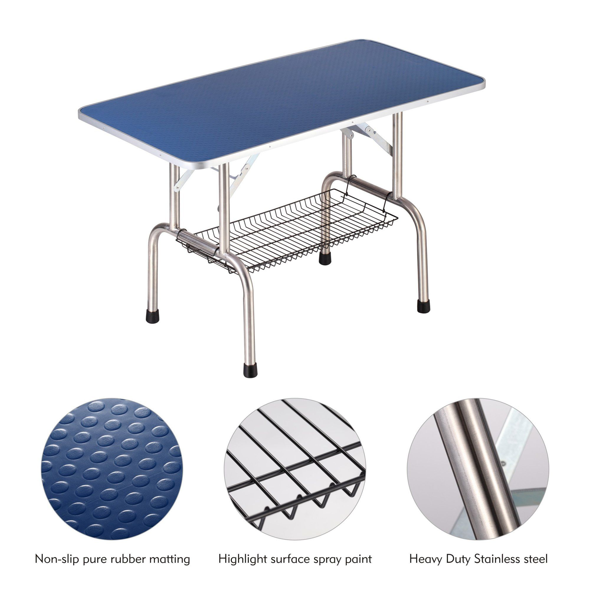 Gelinzon Grooming Table For Pet Dog Or Cat Large Heavy Duty