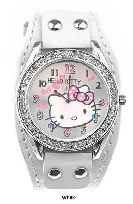 White Hello Kitty Watch
