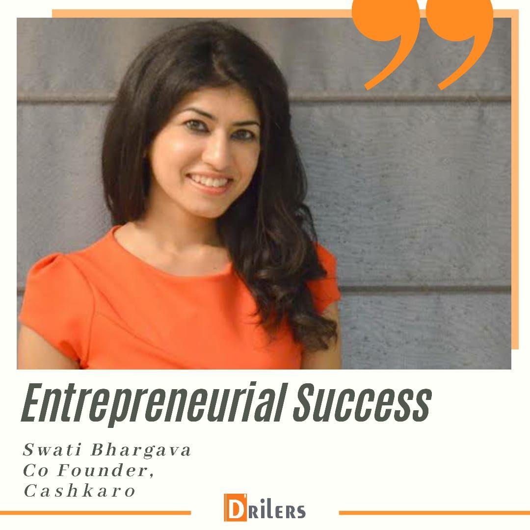 Swati Bhargava Co Founder Cashkaro Com Women Inspirational Women Women Empowerment