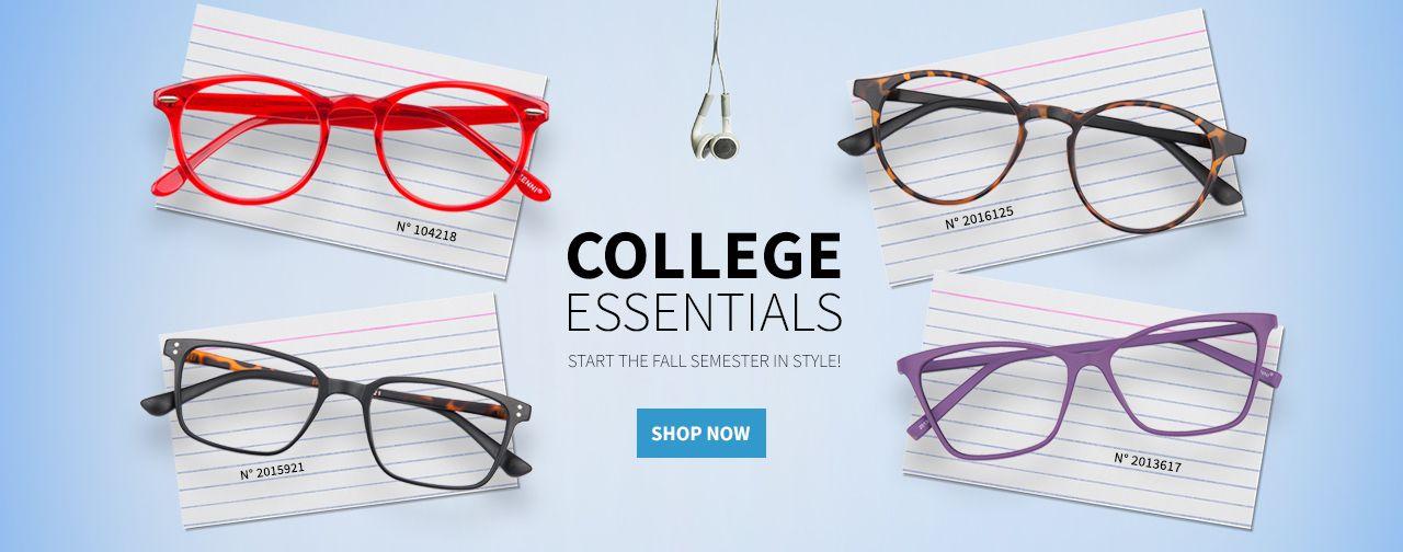 College essentials zenni optical college essentials zenni
