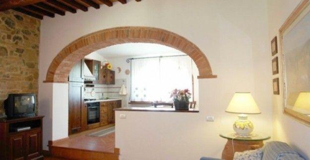 Archi Mattoni Vista In Cucina. Fabulous Muro Con Mattoni ...