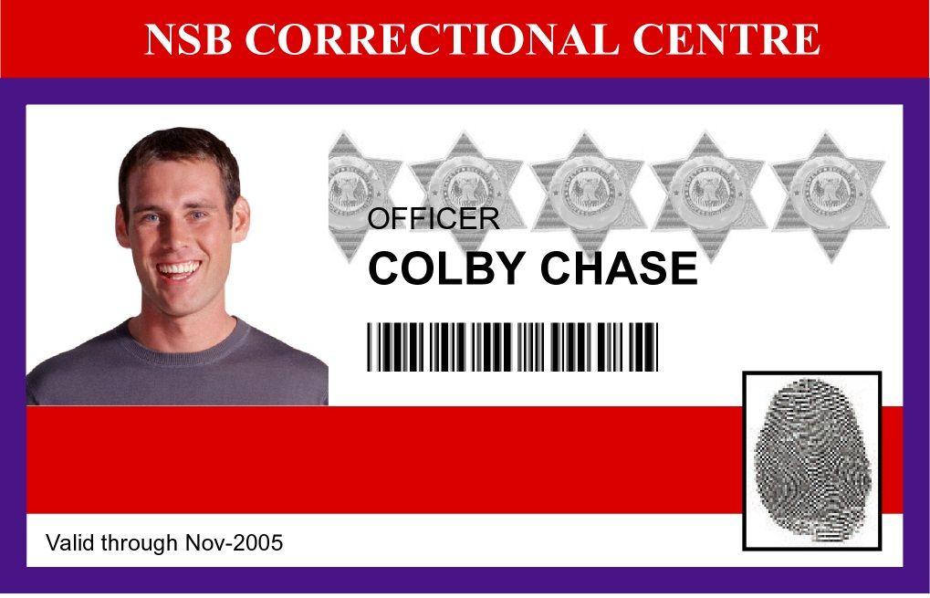 Sample ID card printed on a Zebra card printer ID Cards  Badges - sample id cards