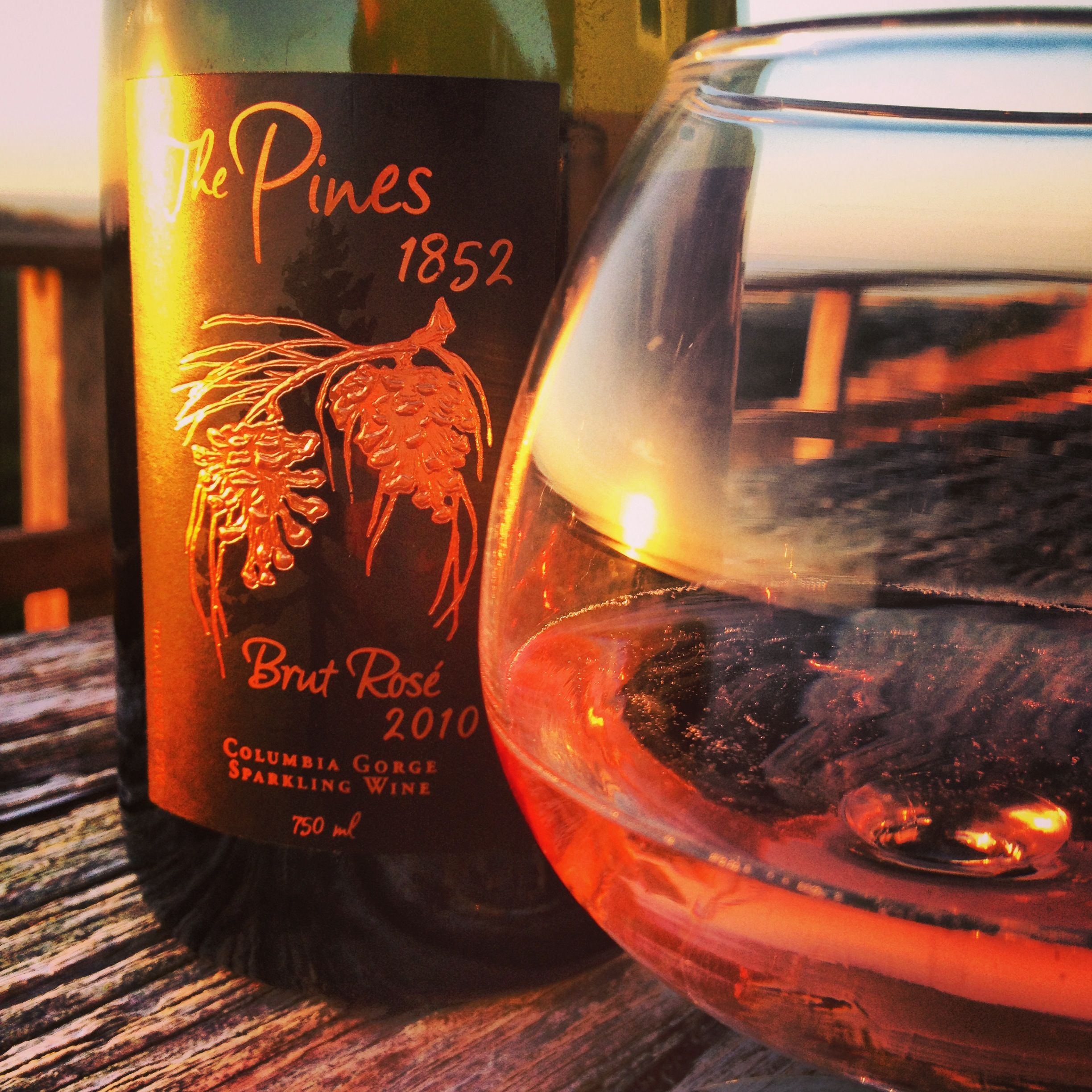 Pair This The Pines 1852 Brut Rose With A Pacific Coast Sunset Pacific Coast Sunset Rose