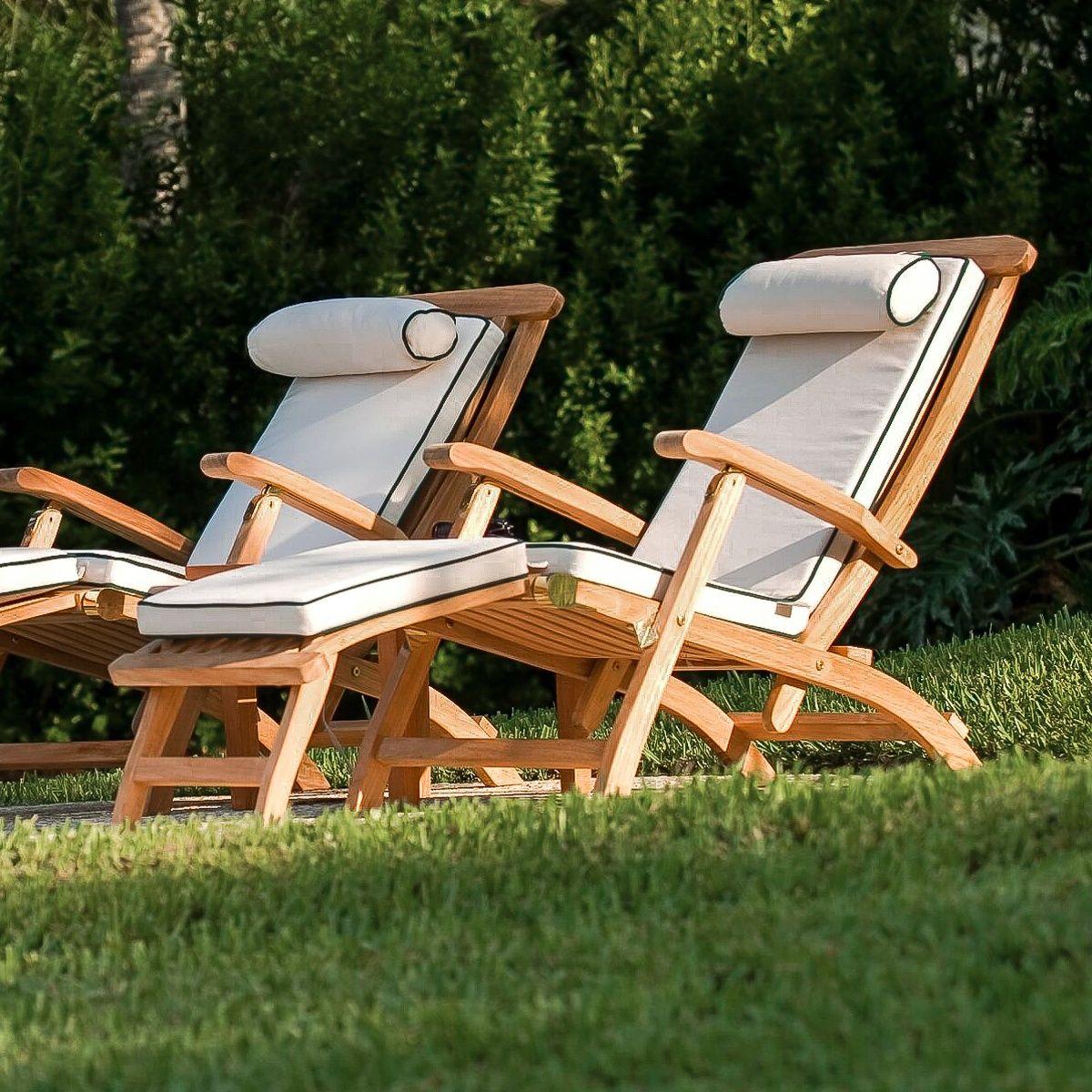 Barbuda Teak Captain Steamer Teak Outdoor Furniture Westminster