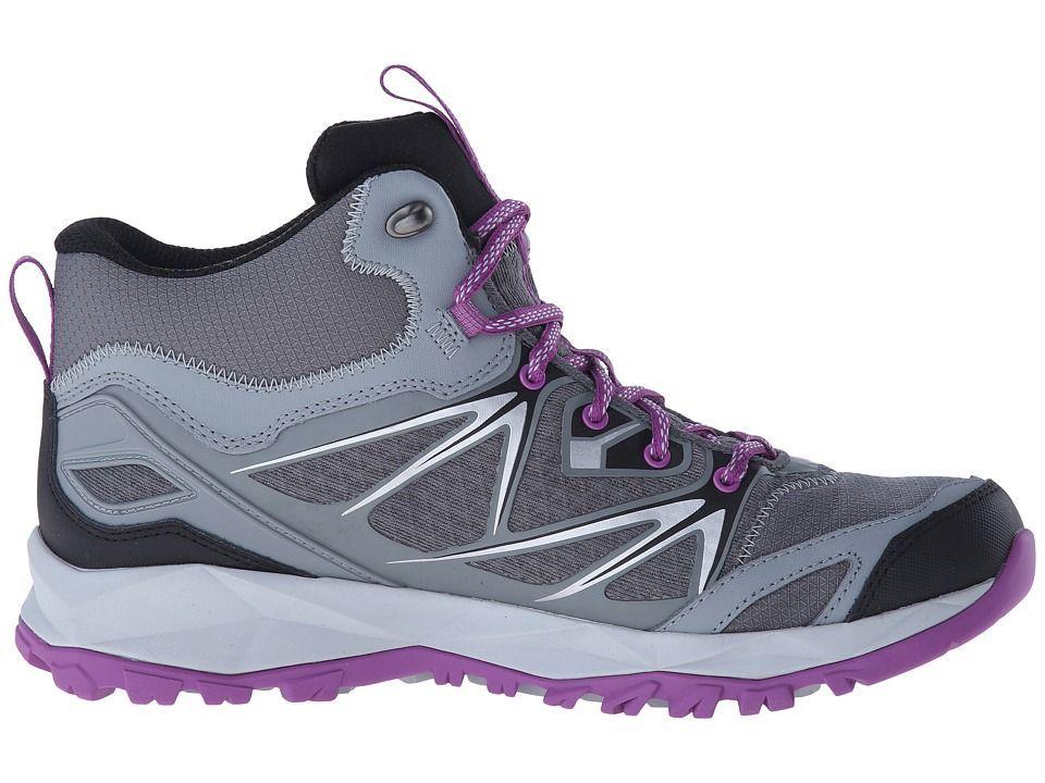 Merrell Capra Bolt Mid Waterproof Women's Shoes Grey/Purple