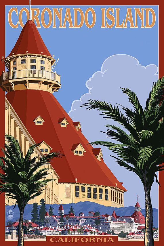 Hotel Del Coronado (Art Prints