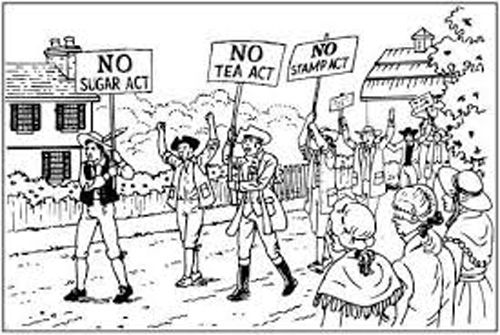 1774 British Parliament adopts the Coercive Acts (With