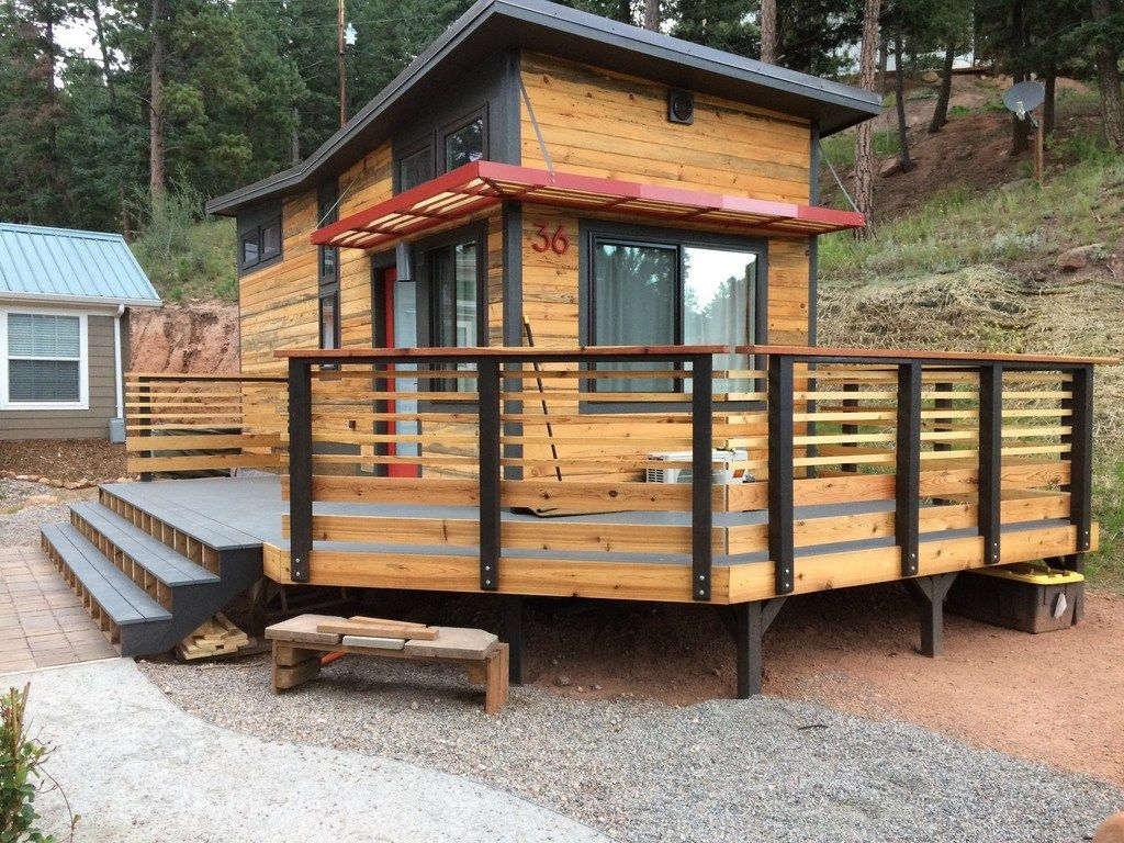 Featured in the 2016 Tiny House Jamboree Colorado Springs CO