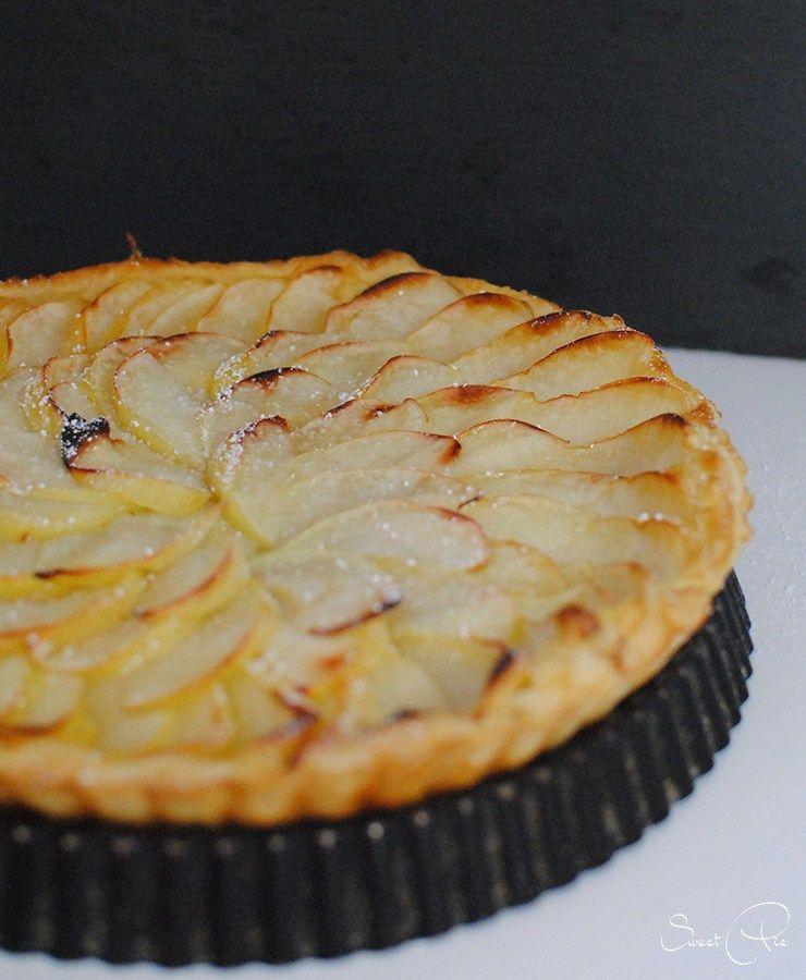 Gastbeitrag Apfel Blatterteig Tarte Von Sweetpie Mit Bildern Blatterteig Suss Teig Tarte