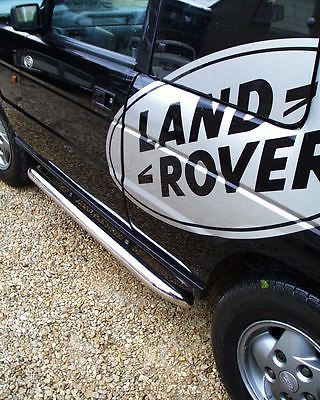 Chrome Side Bars For Land Rover Discovery I Ii Sidestep Step Td5 Disco Ii Step View More On The Link Http Rover Discovery Land Rover Discovery Discovery