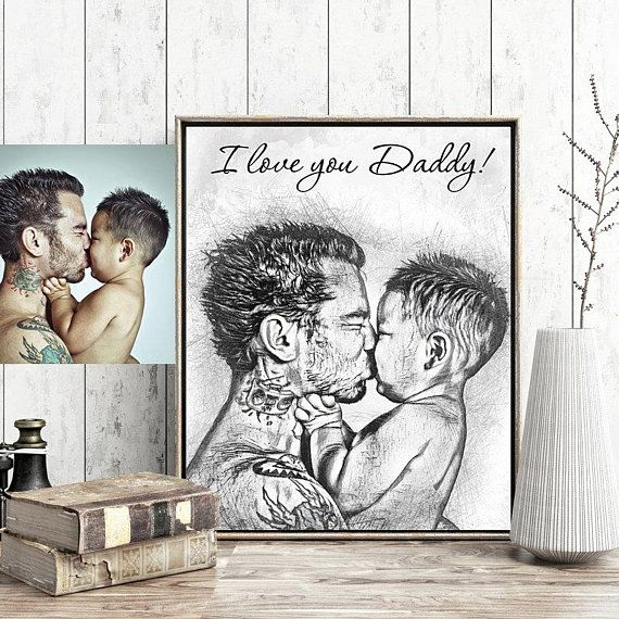 Personalized Fathers Day Gift From Daughter Birthday For Men Dad Son Father Daddy And
