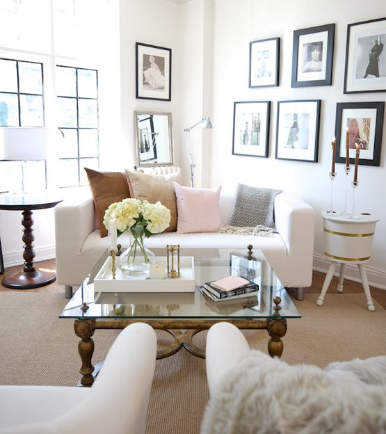 White living room from Live Creating Yourself. #laylagrayce #livingroom #white