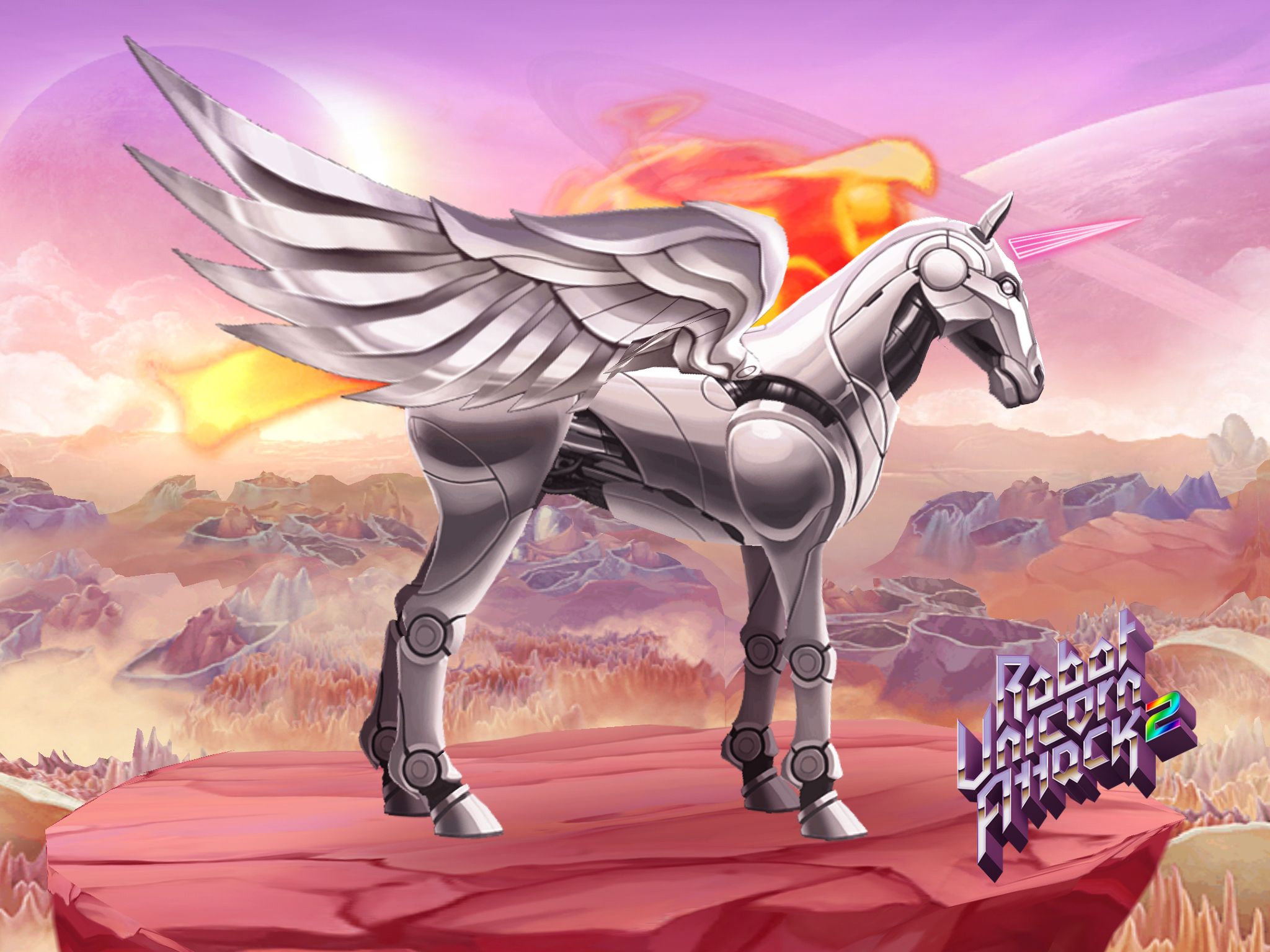 Check out my awesome robot unicorn create your own in