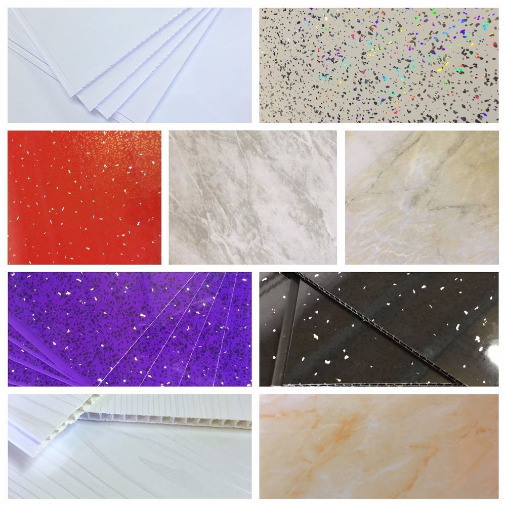 Details About White Black Red Purple Grey Beige Bathroom Panels Shower Wall Ceiling Cladding Ceiling Cladding Bathroom Paneling Bathroom Cladding