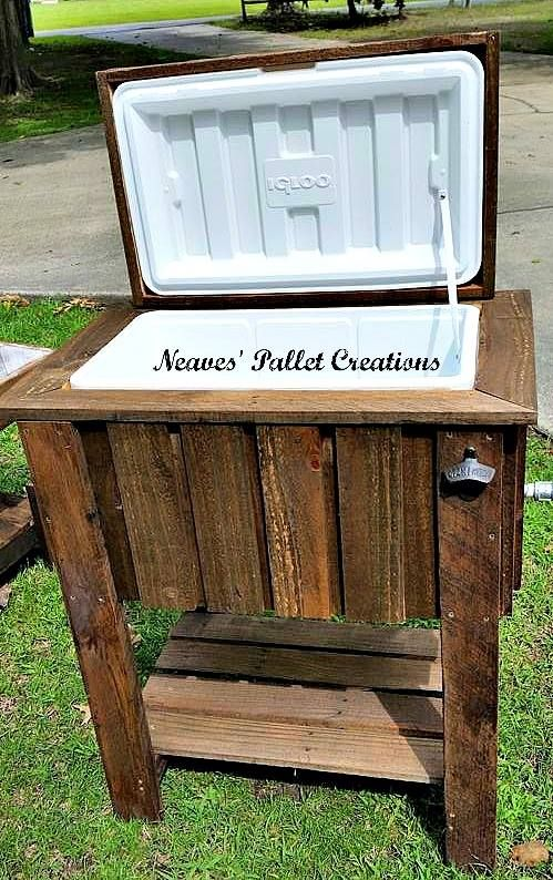 Pallet Wood Cooler | Pallet Ideas
