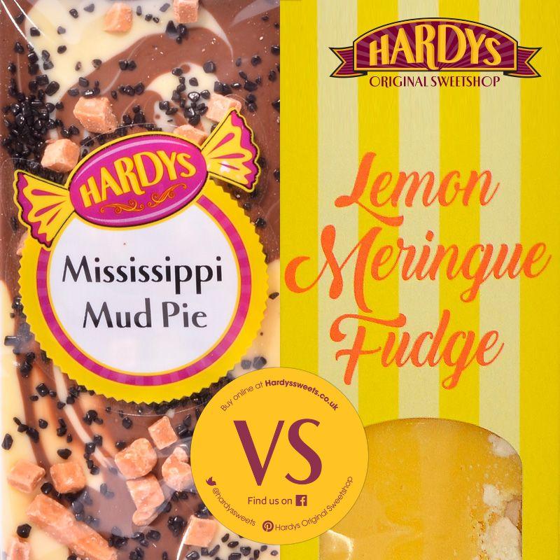 We can't decide which is better Mississippi Mud Pie or Lemon Meringue Pie #BritishPieWeek