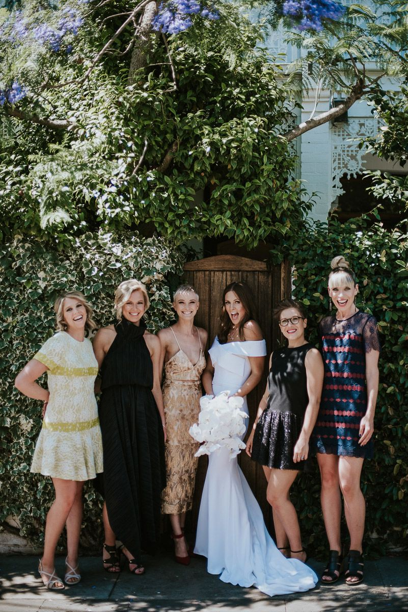 Real Wedding Nick & Claire, Melbourne Vic Ivory Tribe