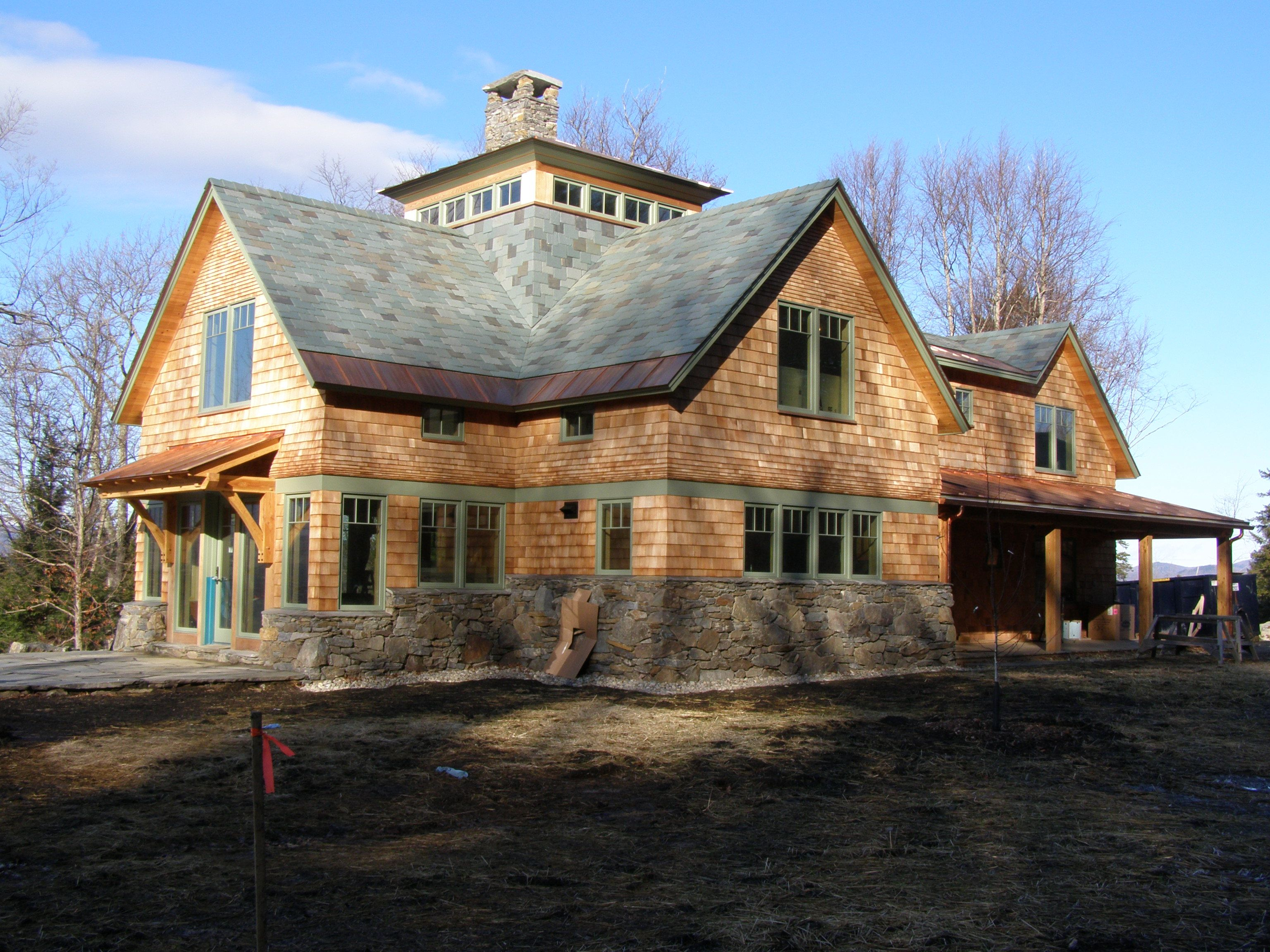Best Project Private Residence Stone Semi Weathering Gray 400 x 300