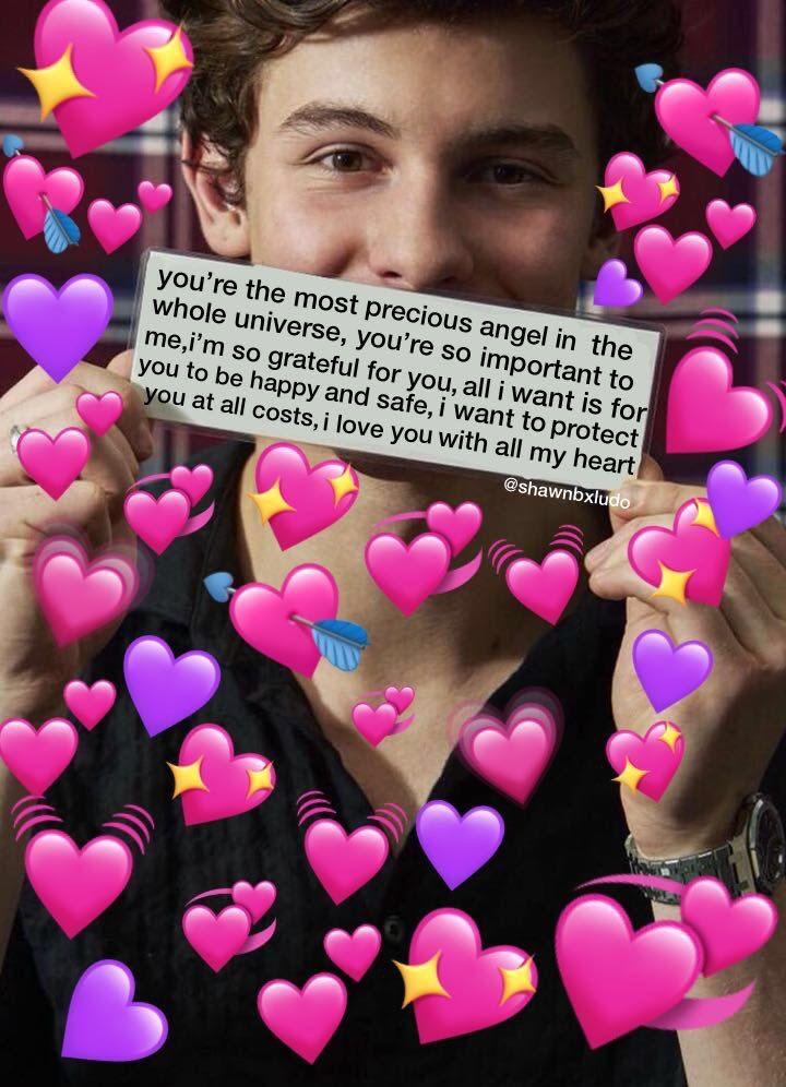 Pin By Ida On L O V E H E A R T S Cute Love Memes Friendship Memes Wholesome Memes