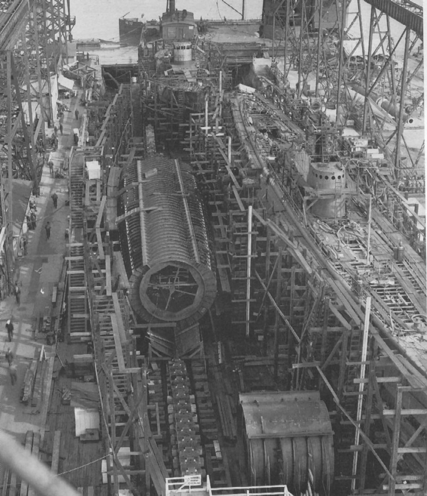 Silversides Under Construction