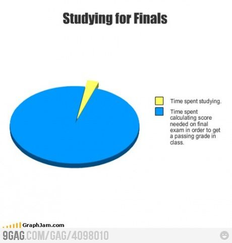 Studying For Final Exam Funny Charts Funny Picture Quotes College Humor