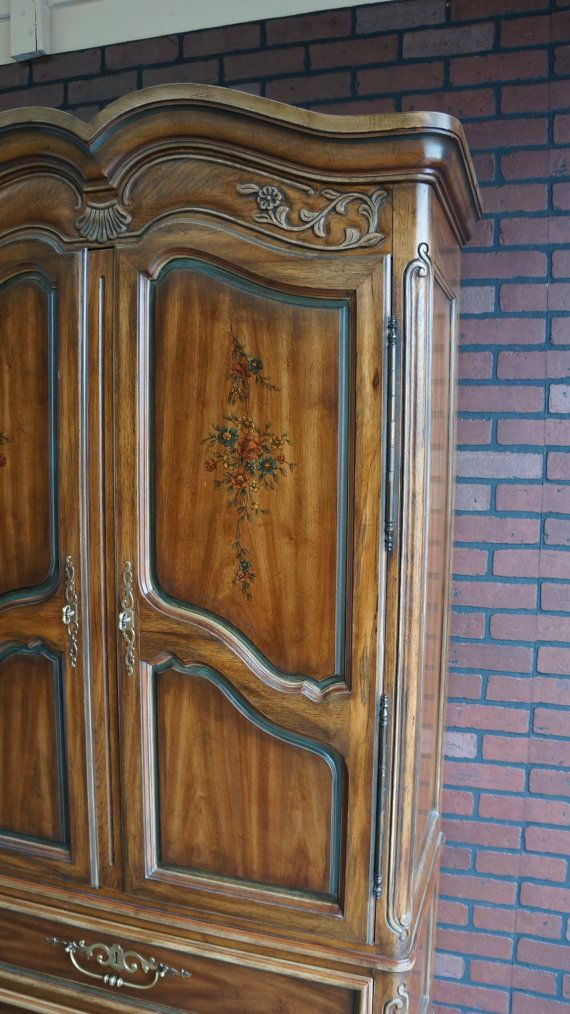 Charmant Items Similar To Hold For Sherri ~ Drexel Heritage Armoire / Wardrobe ~  Brittany Heritage Collection On Etsy