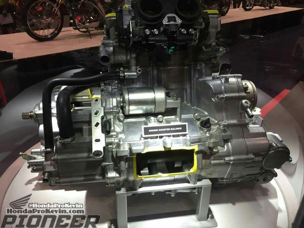 All New 2017 Honda Pioneer 1000 Le En Honda Pioneer