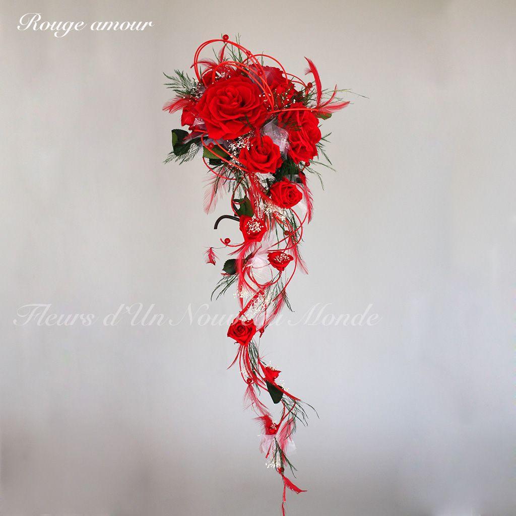 Bouquet Rouge Amour Fleurs D Un Nouveau Monde Bouquets