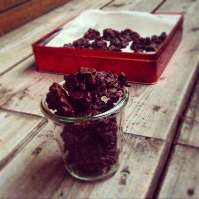 Vegane Schoko-Crossies mit Cranberry #schokocrossiesrezept
