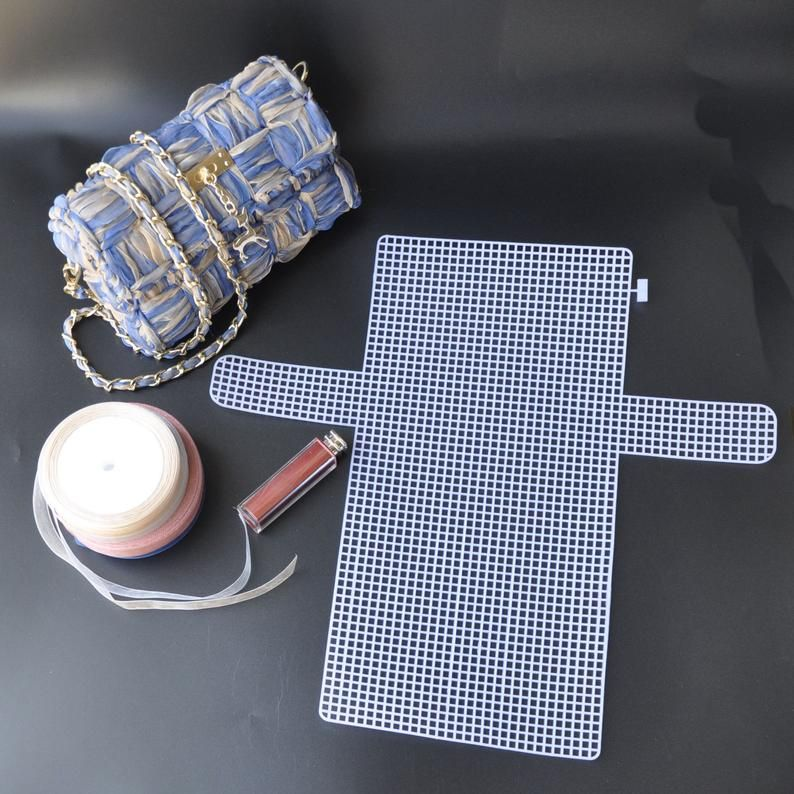 Plastic Canvas For Diy Bag Plastic Mesh Sheet For Diy Bag Etsy In 2020 Diy Bag Denim Bag Patterns Denim Bag Diy