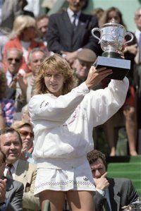 French Open Graf 1988 Steffi Graf Women French Open