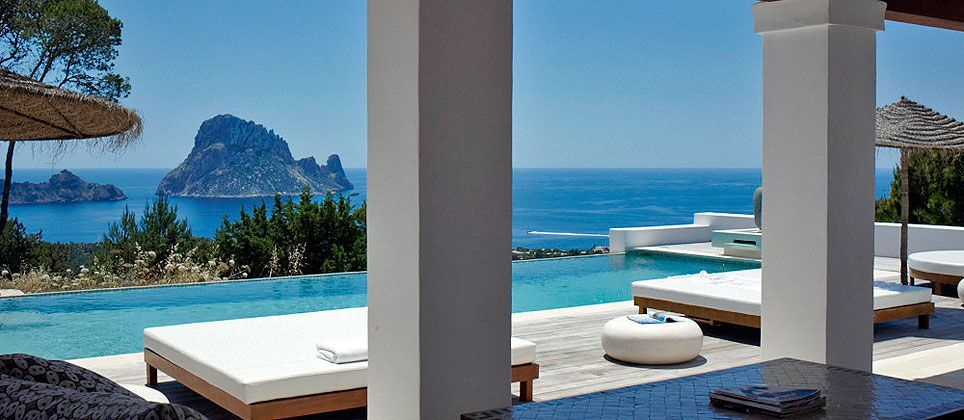 Harissa Ibiza You Can Rent This Gorgeous Residence Luxury Villa Rentals Outdoor Living Patios Ibiza