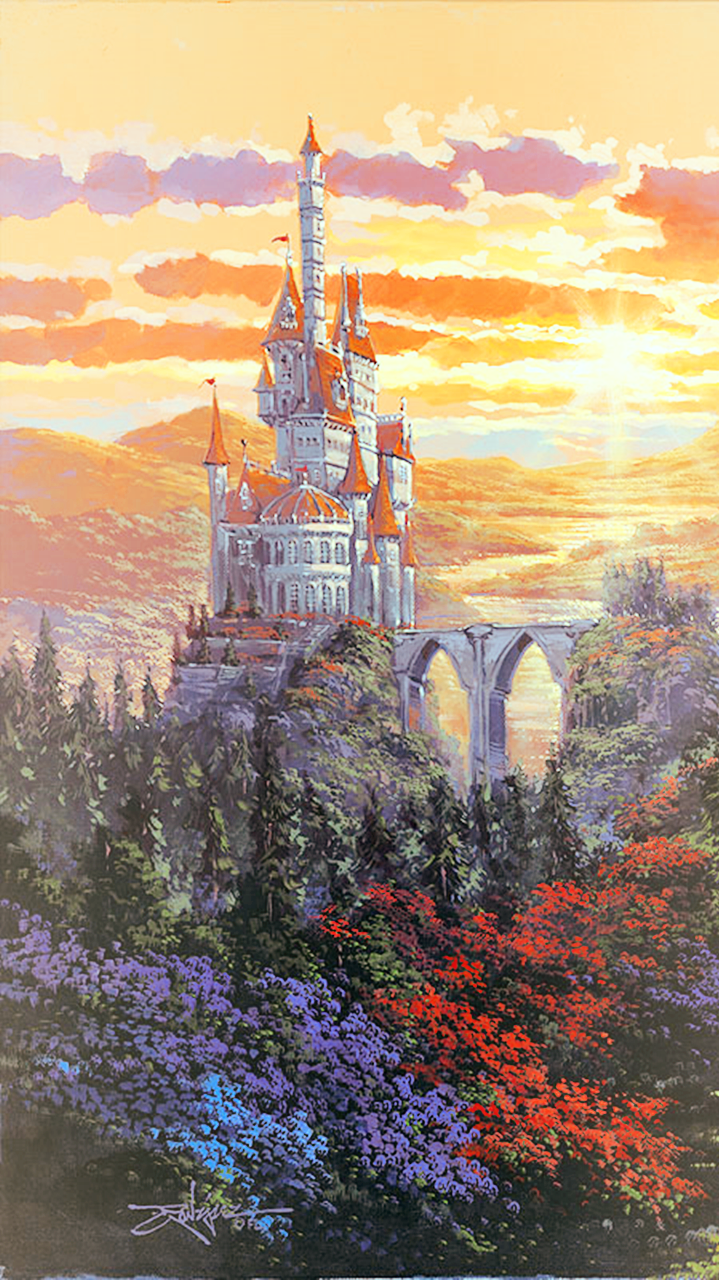 Best Castle Phone Background Beauty And The Beast By 640 x 480