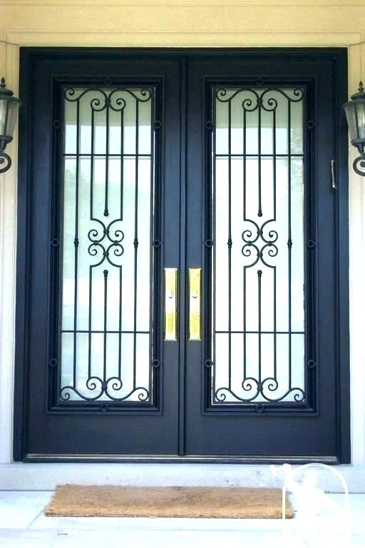 Wrought Iron Door Grill China Latest Stainless Steel Safety Door Design With Grill Paint Colors Wrought Iron Door Grill Malaysia Wrought Iron Door Grill Designs