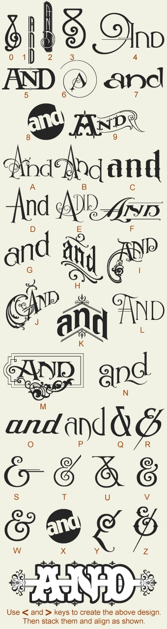 all about the and ampersand