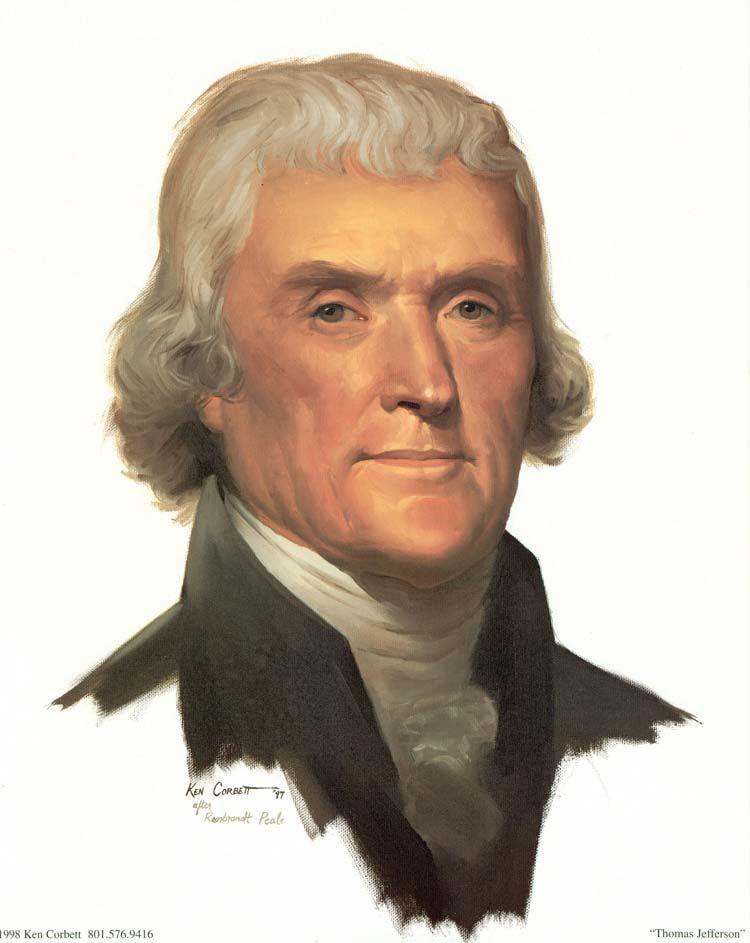 President Thomas Jefferson 3rd