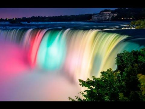 Top 10 Lugares Mas Hermosos Del Mundo Parte 2 Niagara Falls At Night Niagara Waterfall Niagara Falls Canada