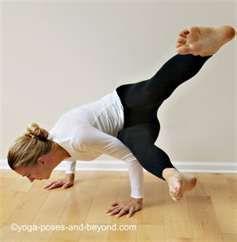 side crow variation  yoga poses advanced cool yoga poses