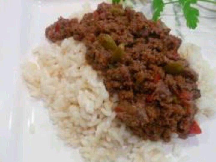 Arroz con picadillo ground beef recipes beef recipes