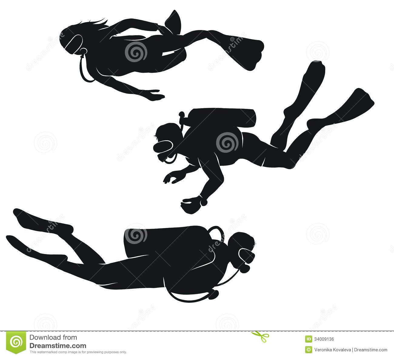 Vector Divers Black White Silhouettes Diving 34009136 Jpg 1300 1181 Boat Drawing Silhouette Free Clip Art