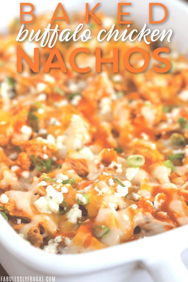 Easy Buffalo Chicken Nachos Recipe (5 Steps) - Fabulessly Frugal
