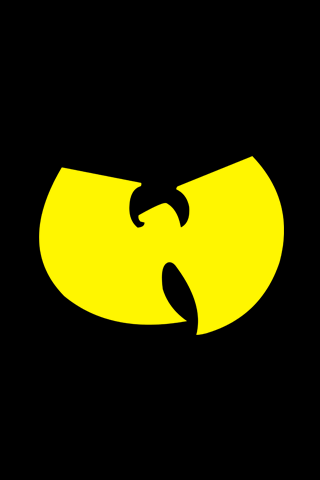 Yellow Wu Tang Logo Iphone Wallpapers Muzik Pinterest Wu Tang