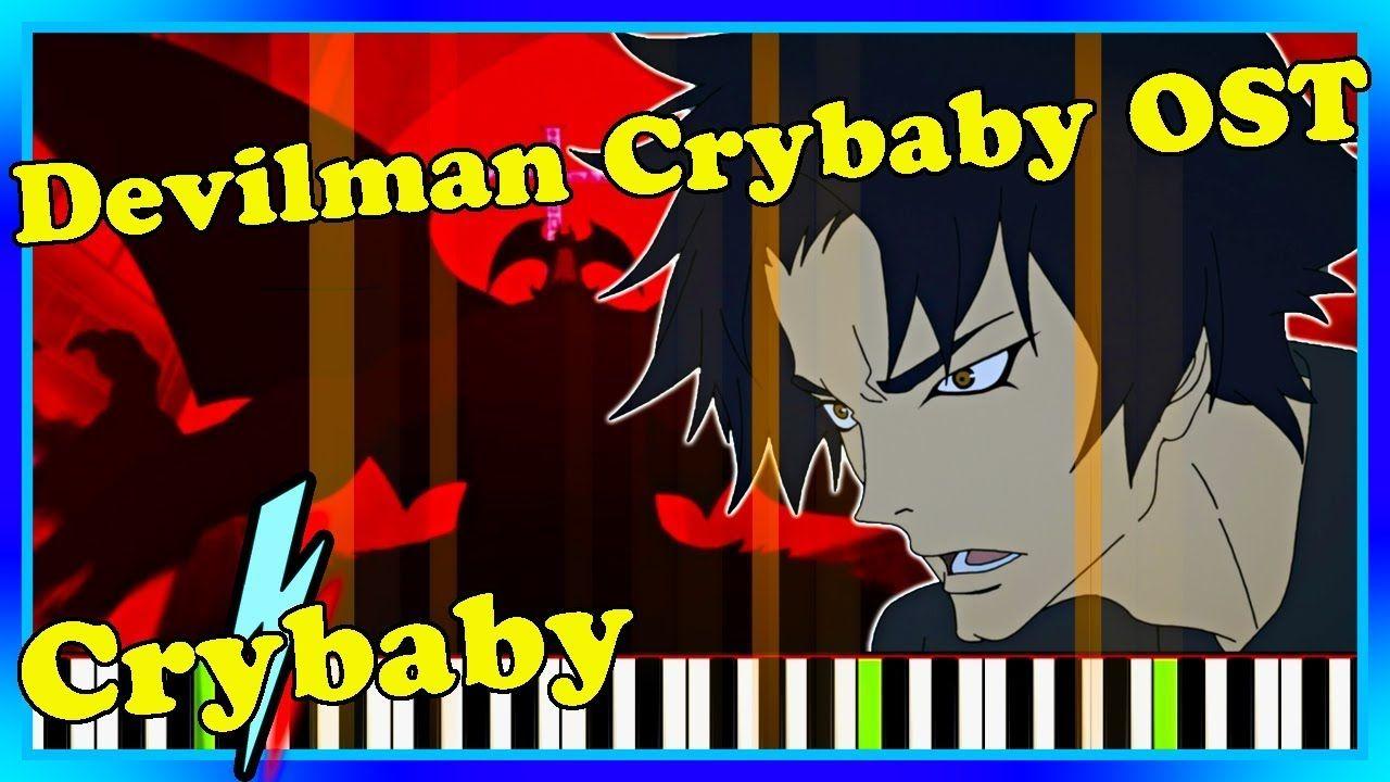 """Crybaby"" Devilman Crybaby Music Piano Cover. Netflix"