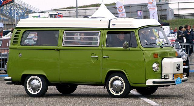 VW T2 bus Westfalia Camper / RV by Jan Barnier Hilversum, via Flickr