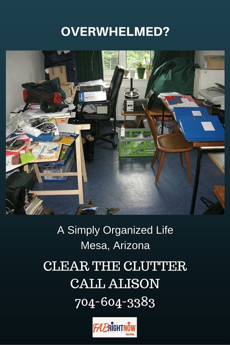 Clear the clutterclearer mind home organizing mesa az