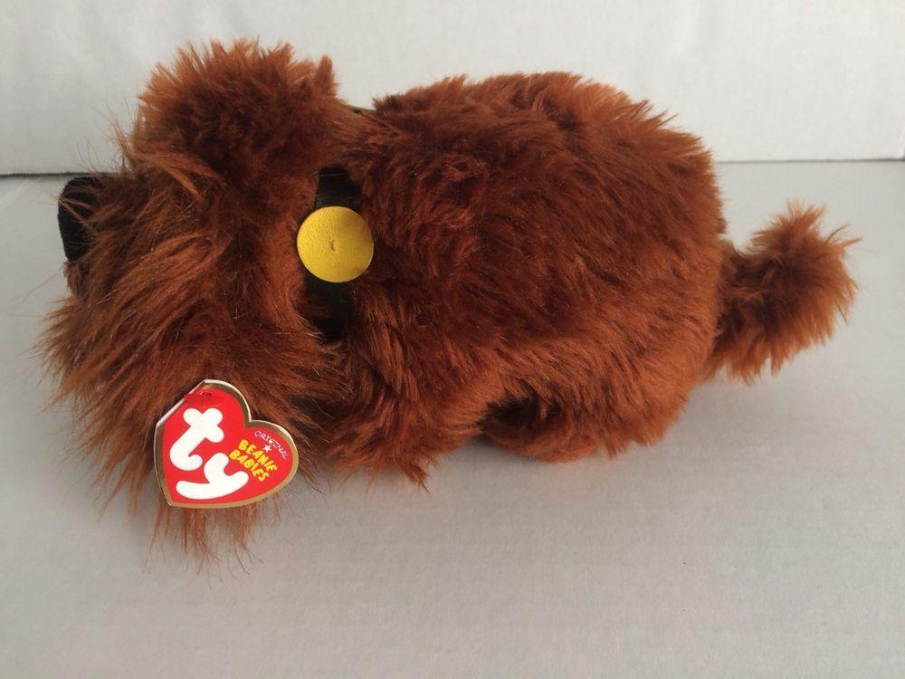 Ty Beanie Babies Secret Life Of Pets Duke The Dog Regular Plush Ty Baby Beanie Ty Beanie Cute Toys