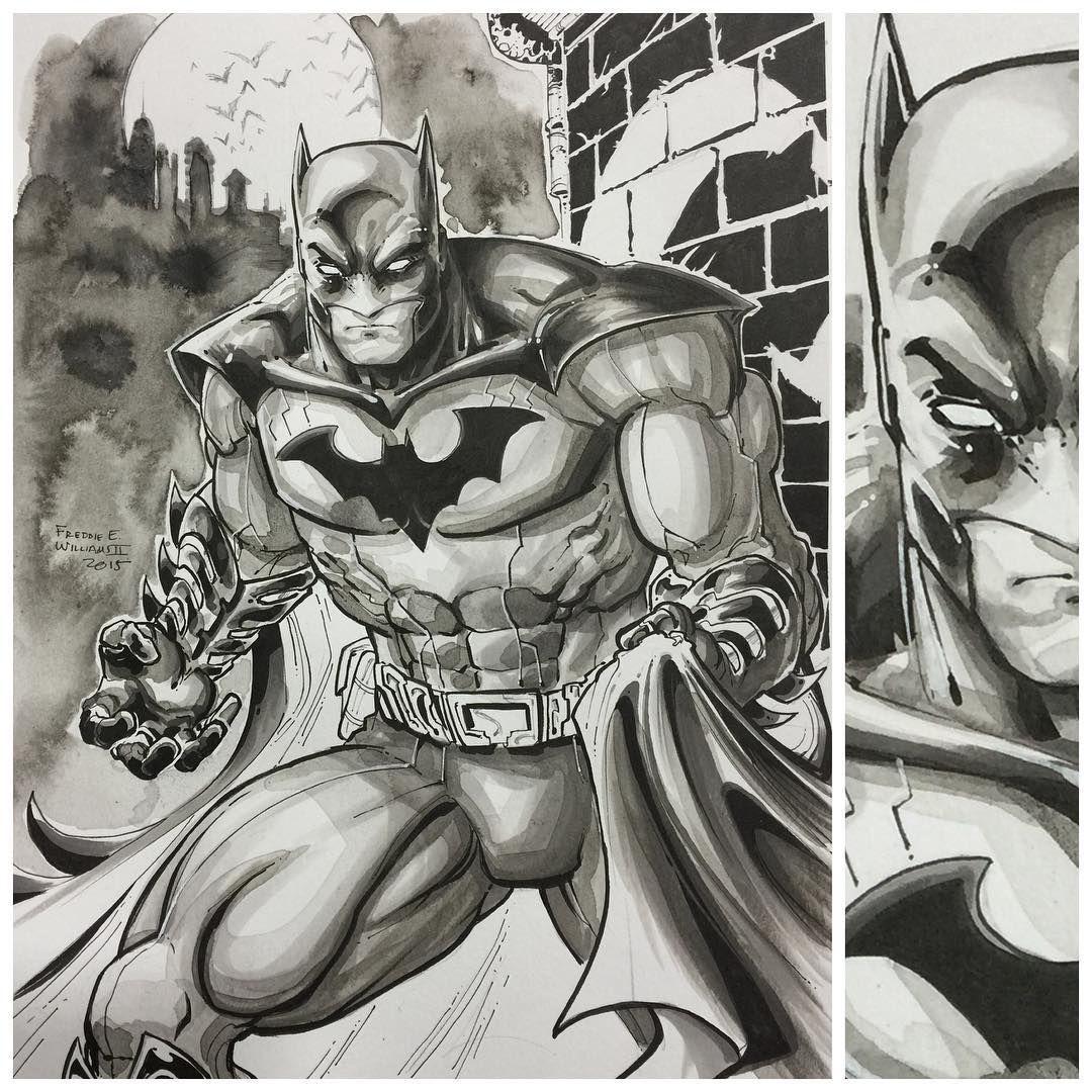 Batman by Freddie Williams II