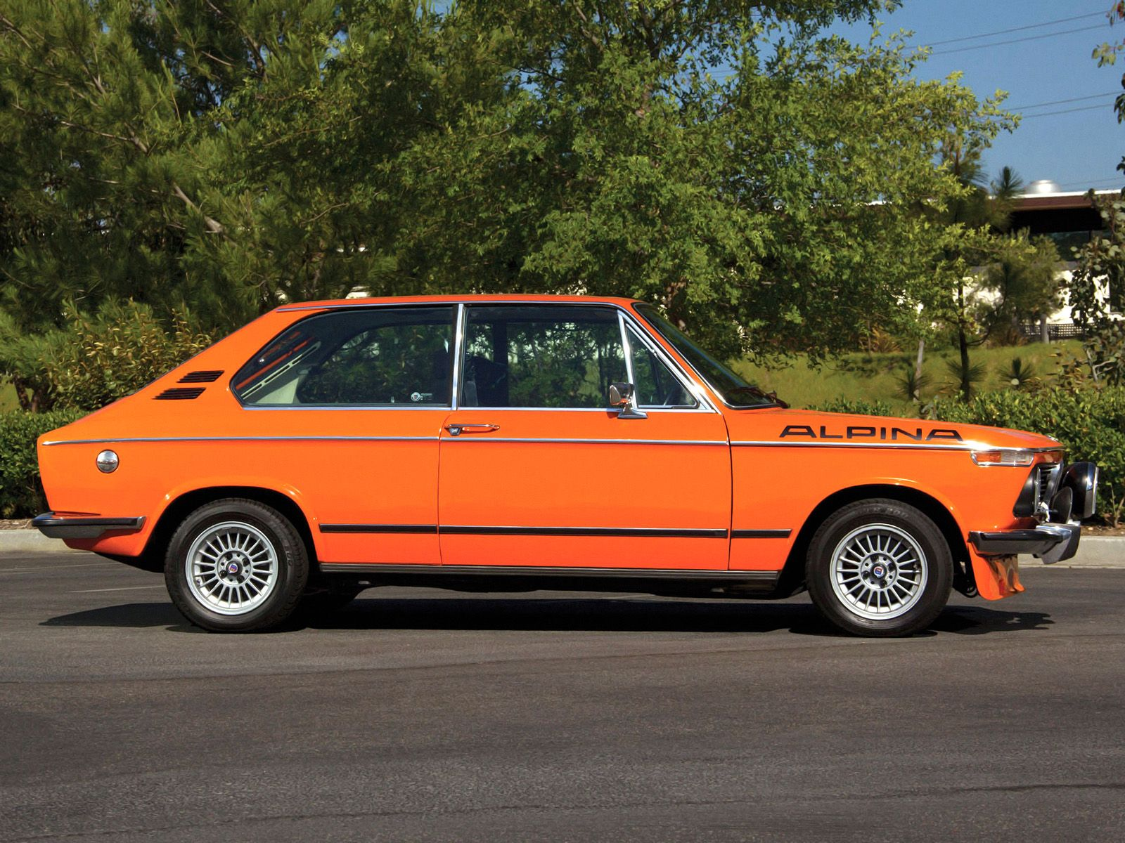 In summer of a very rare 1974 bmw 2002 tii touring alpina previously owned by paul walker went up for sale